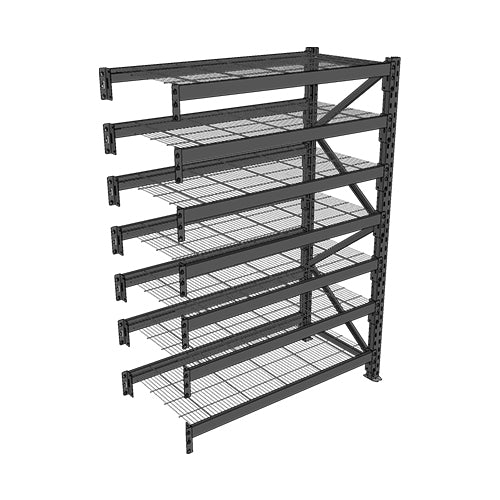 Long Span Shelving-Add On Bay-7 levels
