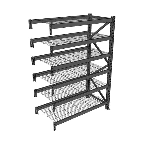 Long Span Shelving-Add On Bay-6 levels