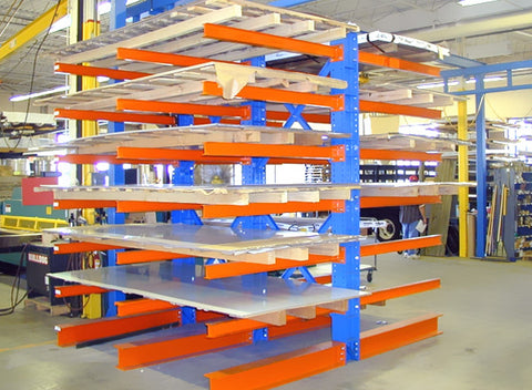 Cantilever Racking old