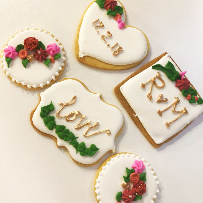 Wedding Biscuits for M + R