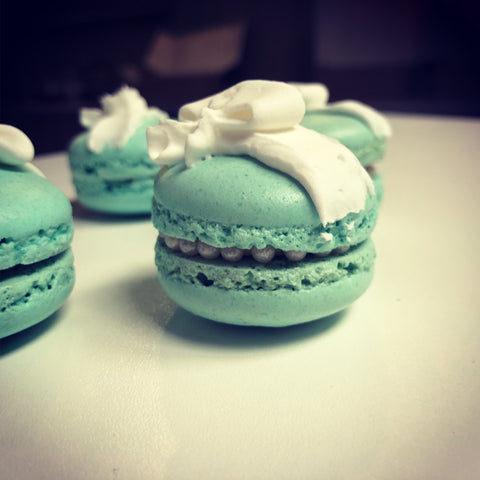 Breakfast At Tiffany Macarons