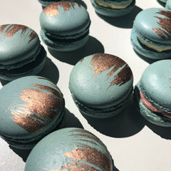 Jungle Stripe Macarons