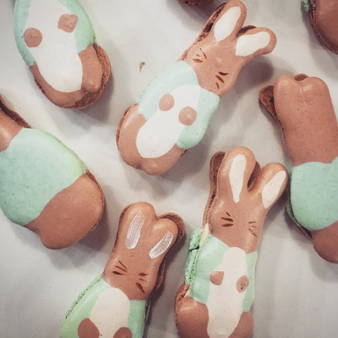 Peter rabbit Macarons
