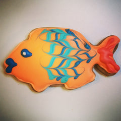 Fishy Themed Biscuits
