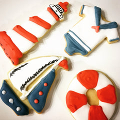 Sailor Themed Biscuits