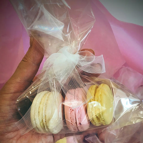 Cellophane Packet Macaron Packaging