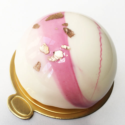 Mini Dome Mirror Cakes - Box of 5