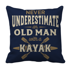 Never Underestimate An Old Man With A Kayak