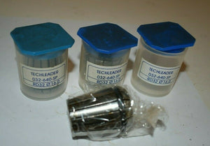 Lot of 3 Techleader Precision Collet 032-640-SP