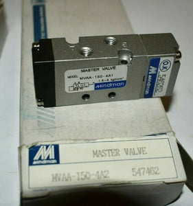 Lot of 3 Mindman Master Pneumatic Valve