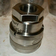 "Lot of 4 Thorburn Flex 316SS 1"" NPT No Spill Quick Coupling NS71C16FBSL-Class 3"