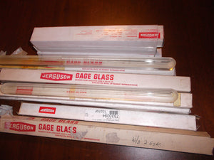 Lot Of 12 Jerguson Borosilicate Gage Glass