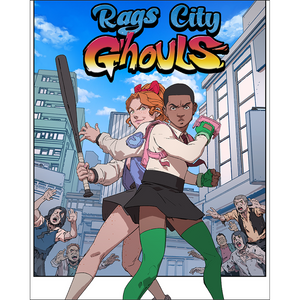 RAGS City Ghouls Print