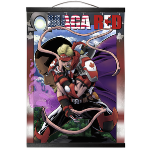 OMAGA RED Wall Scroll