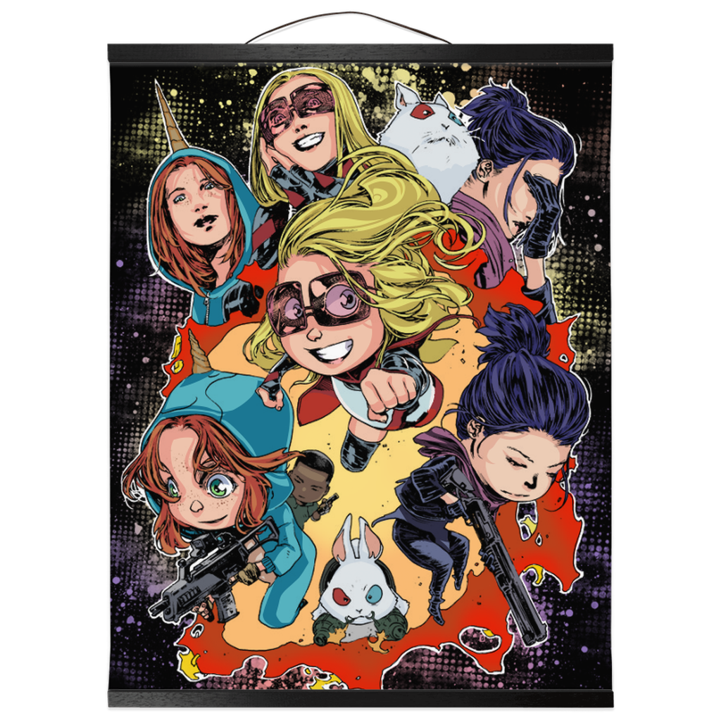 Chibi Babies Wall Scroll