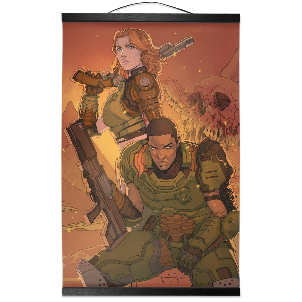 RAGS: DOOMED Wall Scroll