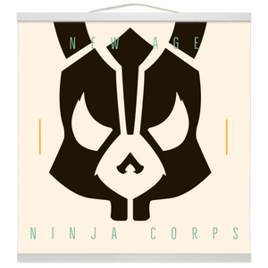 New Age Ninja Corps Wall Scroll