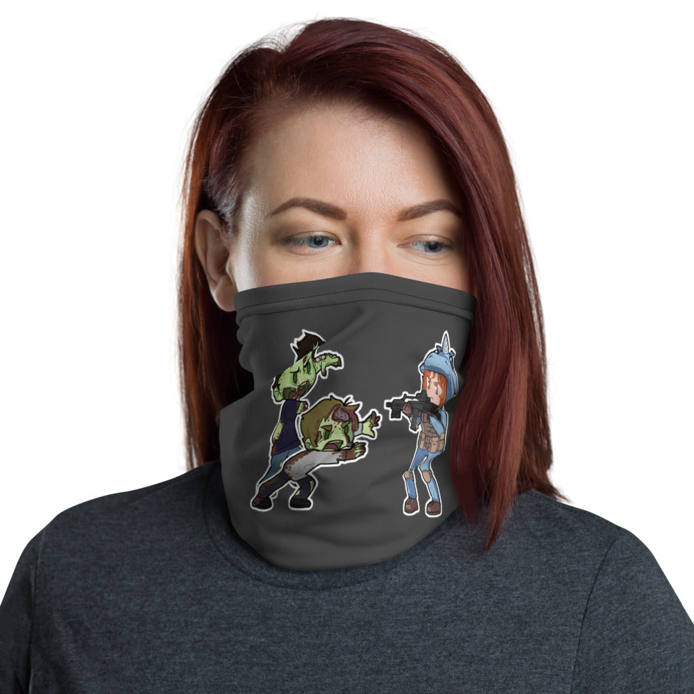 Chibi Showdown Neck Gaiter