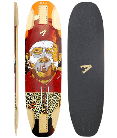Cannon Longboard Deck 8 Ply Maple