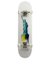 Zoo York Standard Skateboard Complete - Water Colour Liberty 7.75 Pre-Built
