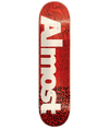 Almost Skate Deck - Logo Red 8.0 | XiiSkate.co.za