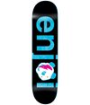 Enjoi Skate Deck - No Brainer Black/Blue 8.0 | XiiSkate.co.za