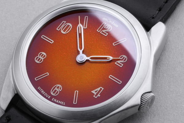 The world's first fumé enamel dial
