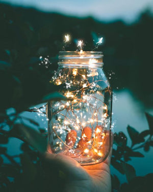Create your mason jar fairy lights in 5 minutes!