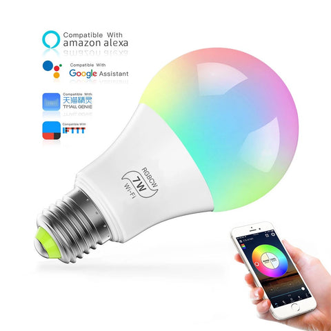 7W Smart LED bulbs