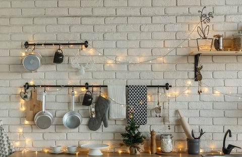 fairy lights for kitchen