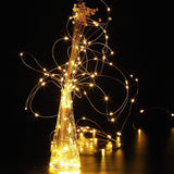 Fairy String Lights Battery Operated 30 Mini Lights on 9.8 Feet Long Starry Firefly Lights, With Timer Battery Box Perfect for Wedding Party, Bedroom, Christmas