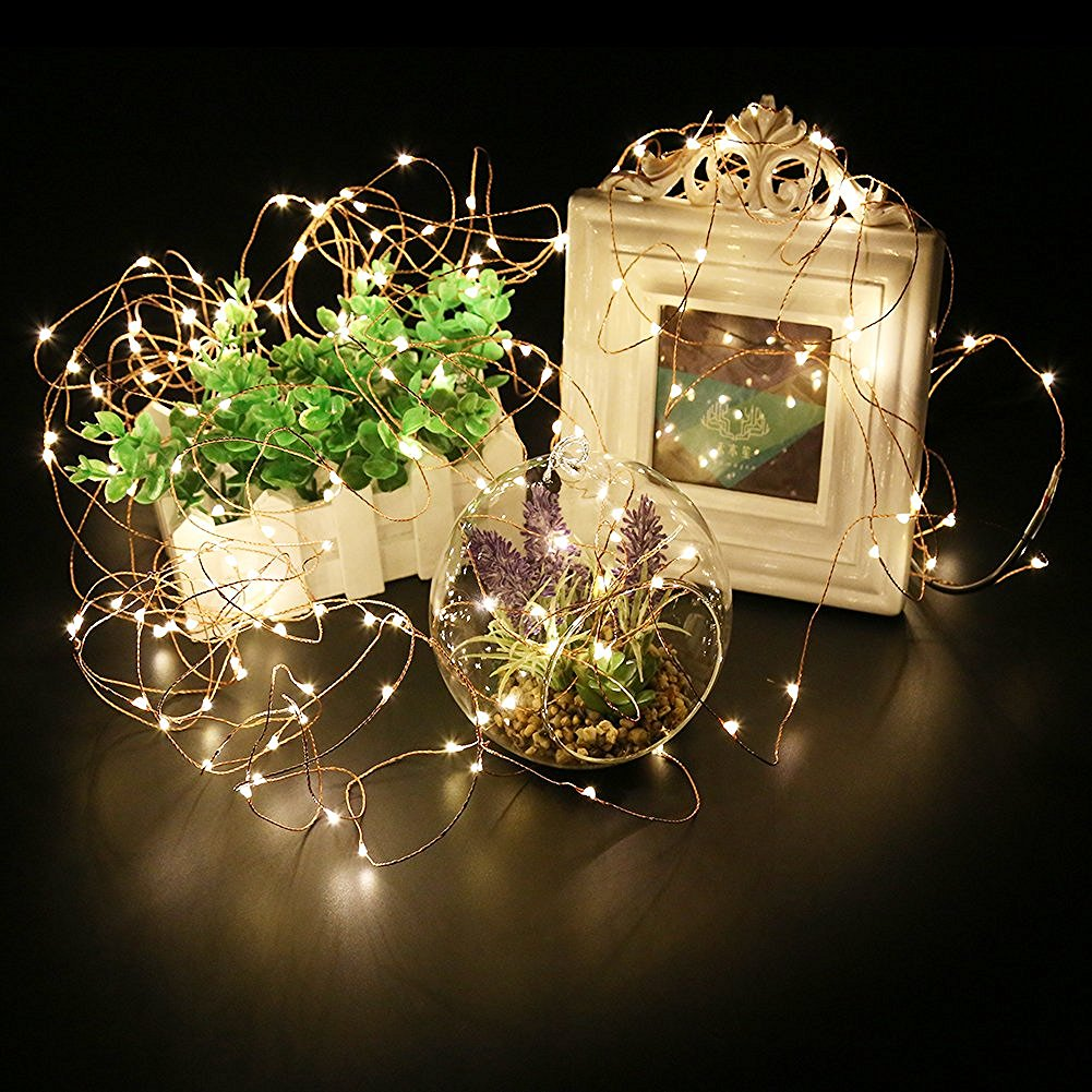 Fairy String Lights Battery Operated 30 Mini Lights On 9 8