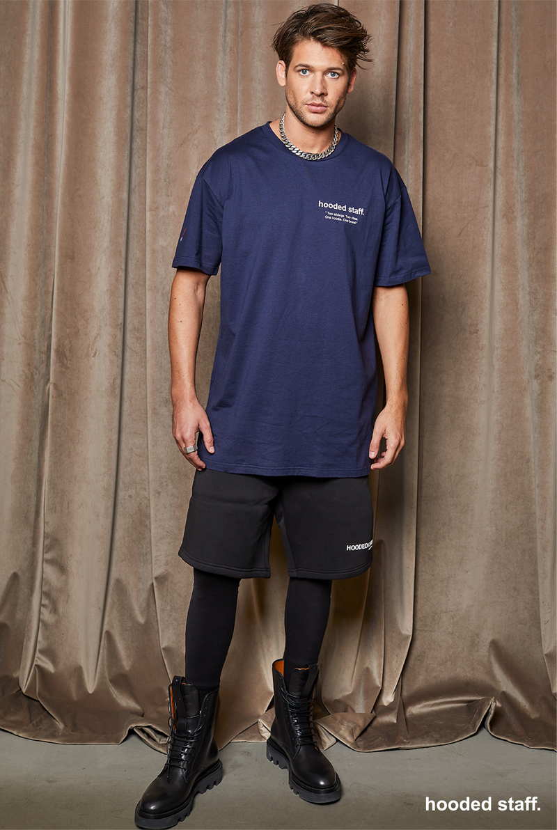 INTRO tee indigo blue