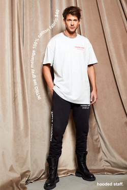INTRO tee gray melange