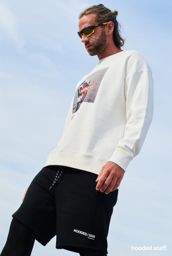 DAWG sweatshirt star white