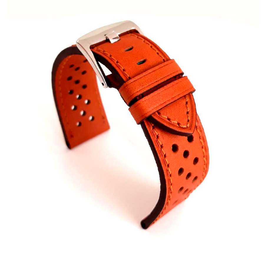 Premium Perforated Cowhide | 18mm | 20mm | 22mm | 24mm