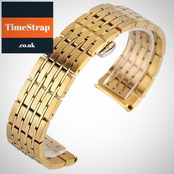 Bracelet A-2L 20/22/24mm (PVD or GOLD) TimeStrap Gold / 20mm