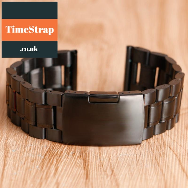 Bracelet Ellipse 18/20/22mm (4 colours) TimeStrap Black / 18mm