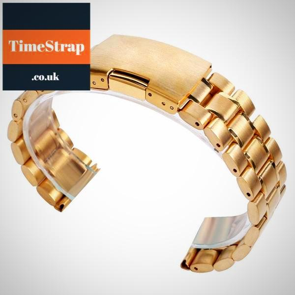 Bracelet Ellipse 18/20/22mm (4 colours) TimeStrap Gold / 18mm