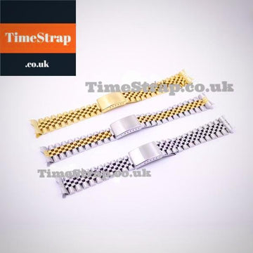 Bracelet Jubilee (Silver/Gold/Two Tone) 19/20/22mm TimeStrap Gold / 19mm