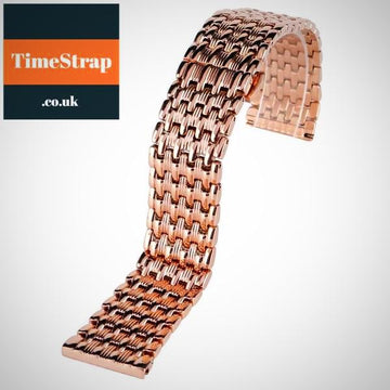 Bracelet Mesh Rose Gold 18/20/22mm TimeStrap 18mm