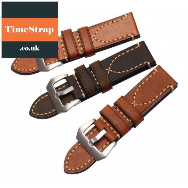 Loop Stitch Leather Strap 20/22/24/26Mm Timestrap