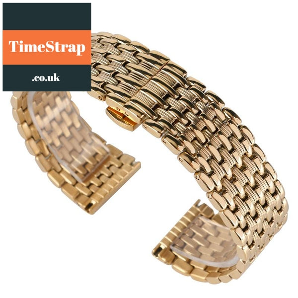 Mesh Gold Rice 18/20/22mm TimeStrap 18mm