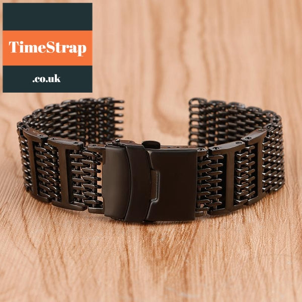 Mesh Shark Mesh High Grade PVD 20/22/24mm TimeStrap 20mm
