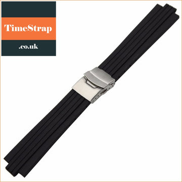 Silicone Rubber Watchband For Oris Aquis