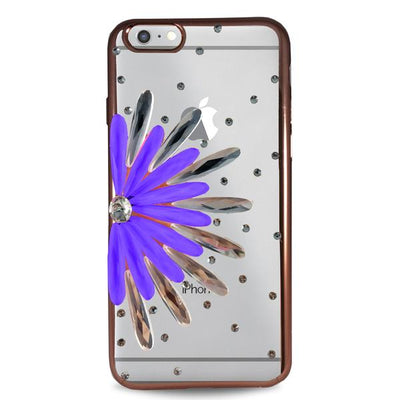 Flower Case for iPhone 6/6S - Purple