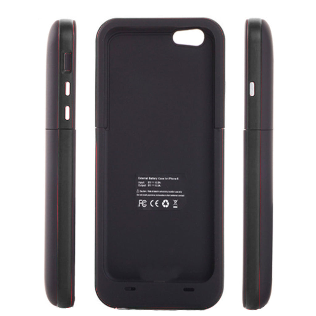 Charger Case for iPhone 8 Plus/7 Plus (7000 mah) - Black