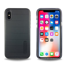 Clear Dual Layer Armor Case for iPhone X