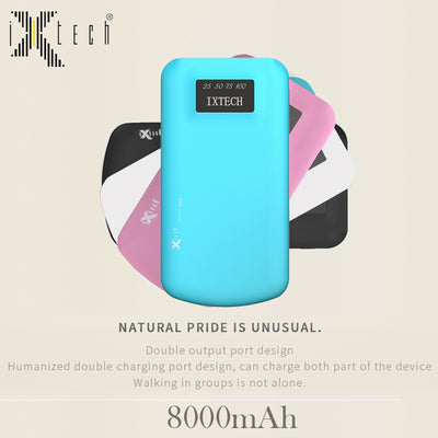 i-Xtech Percent Power Bank 8000 mAh