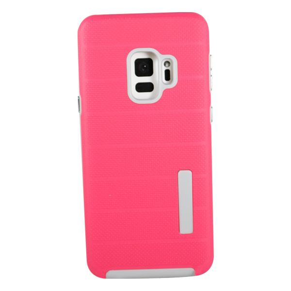 Clear Dual Layer Armor Case - Pink